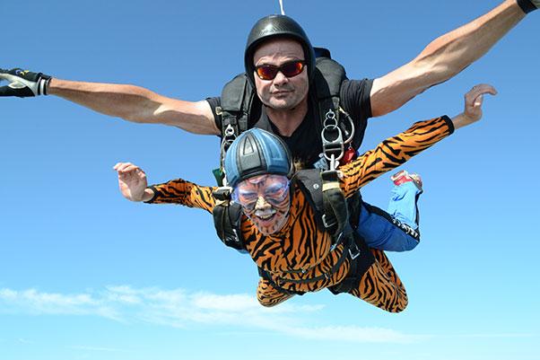 Tanya Ralph – Tandem Skydive