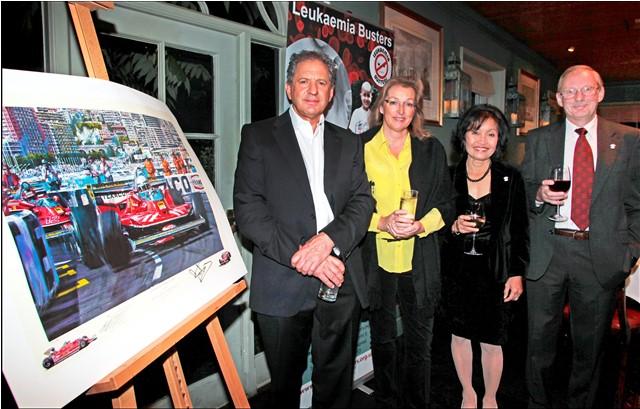 Dinner with Jody Scheckter