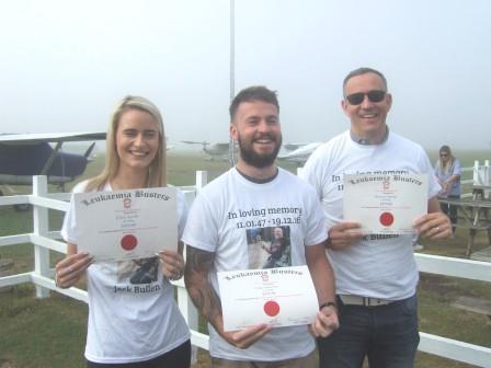 Skydive in Memory of Jack Bullen