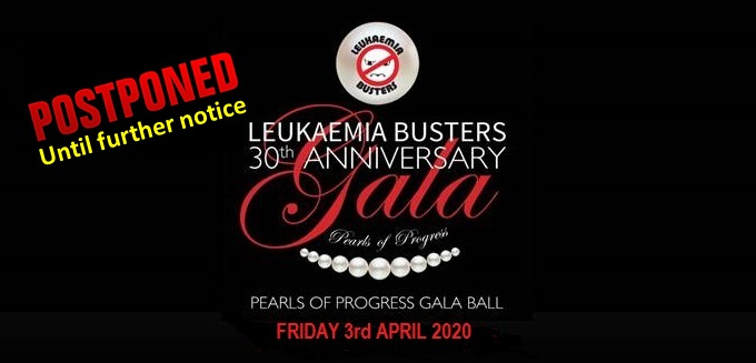"Leukaemia Busters 30th Anniversary ""Pearls of Progress"" Gala Ball"