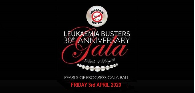 "Leukaemia Busters 30th Anniversary ""Pearls of Progress"" Gala Ball"