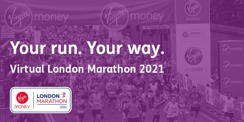 Virtual Virgin Money London Marathon: 3 October 2021